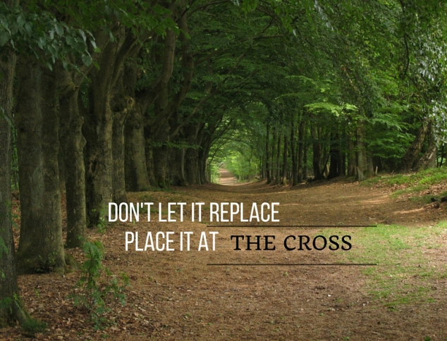 PLACE IT AT THE CROSS